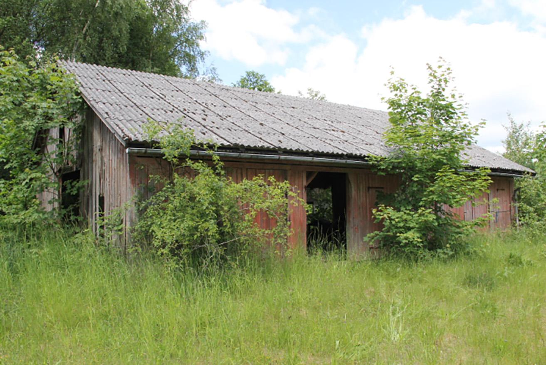 Savværket langt ude i skoven (Danmark)