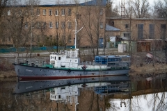 Tjernobyls efterladte biler og både(Ukraine)