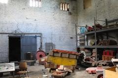 Jernstøberiet er færdig med og støbe (Danmark)