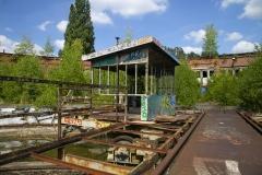 Stedet hvor tog kørte hen for at sove (Tyskland)